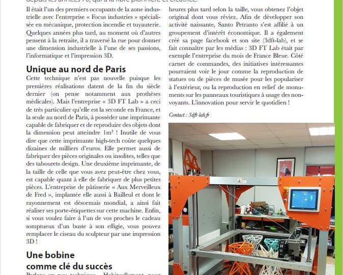 Magazine Mélusine – 3DFT LAB