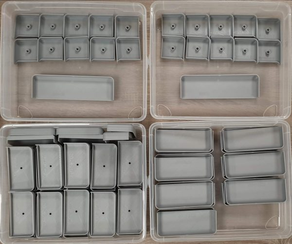 Plaques éclairage Type 1 - 2 - 3 - 4 et 5